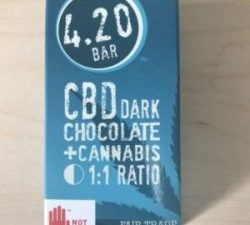 420 Bars Dark Chocolate CBD Bars