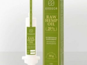 CBD paste raw syringe (Endoca) 10g