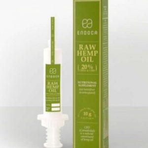 CBD paste raw syringe (Endoca) 10g