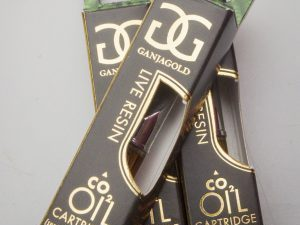 Ganja Gold Live Resin Cartridge 500mg