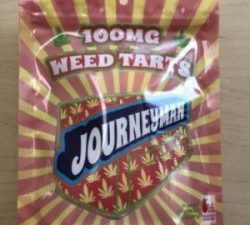 Journeyman Weedtarts - 100mg 10 pack