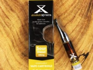 sour diesel cannabis oil vape cartridge