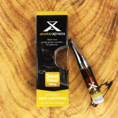 sour diesel cannabis oil vape cartridge